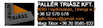 Pallér Triász Kft.